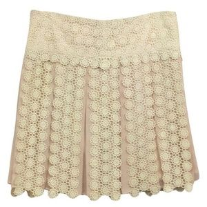 French Connection ~ Jasmine Lace Mini Skirt